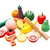 Cocina Infantil,Niños cortan Juguetes de Frutas,Hijos 3-6 años niño niños niños Fruta Corte Juguete Juguetes para niños Set
