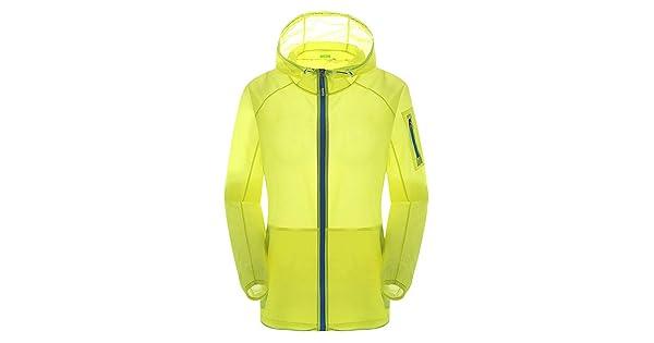 Staron  Mens Women Casual Jackets Zip Rain Jacket Windproof Ultra-Light Rainproof Sunscreen Windbreaker Top
