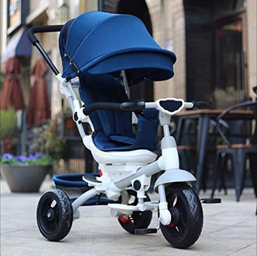 Qinmo Asiento Triciclo la bici bici del bebé de la carretilla for cochecitos de bebé del cochecito de bebé Cochecitos de la carretilla de los niños puede girar 360 grados bicicletas