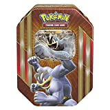 PoKéMoN TCG Spring Tin 2016 Machamp - Scatola in Latta, Gioco di Carte (Multicolore)