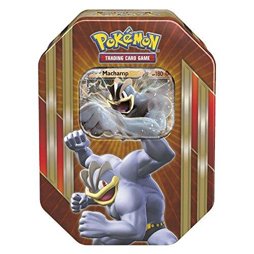 Pokemon TCG: Triple Power Tin (Machamp) Toy