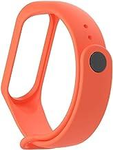mStick Mi Band 3 Strap Orange TPU Sillicon Band Strap for Xiaomi Band 3