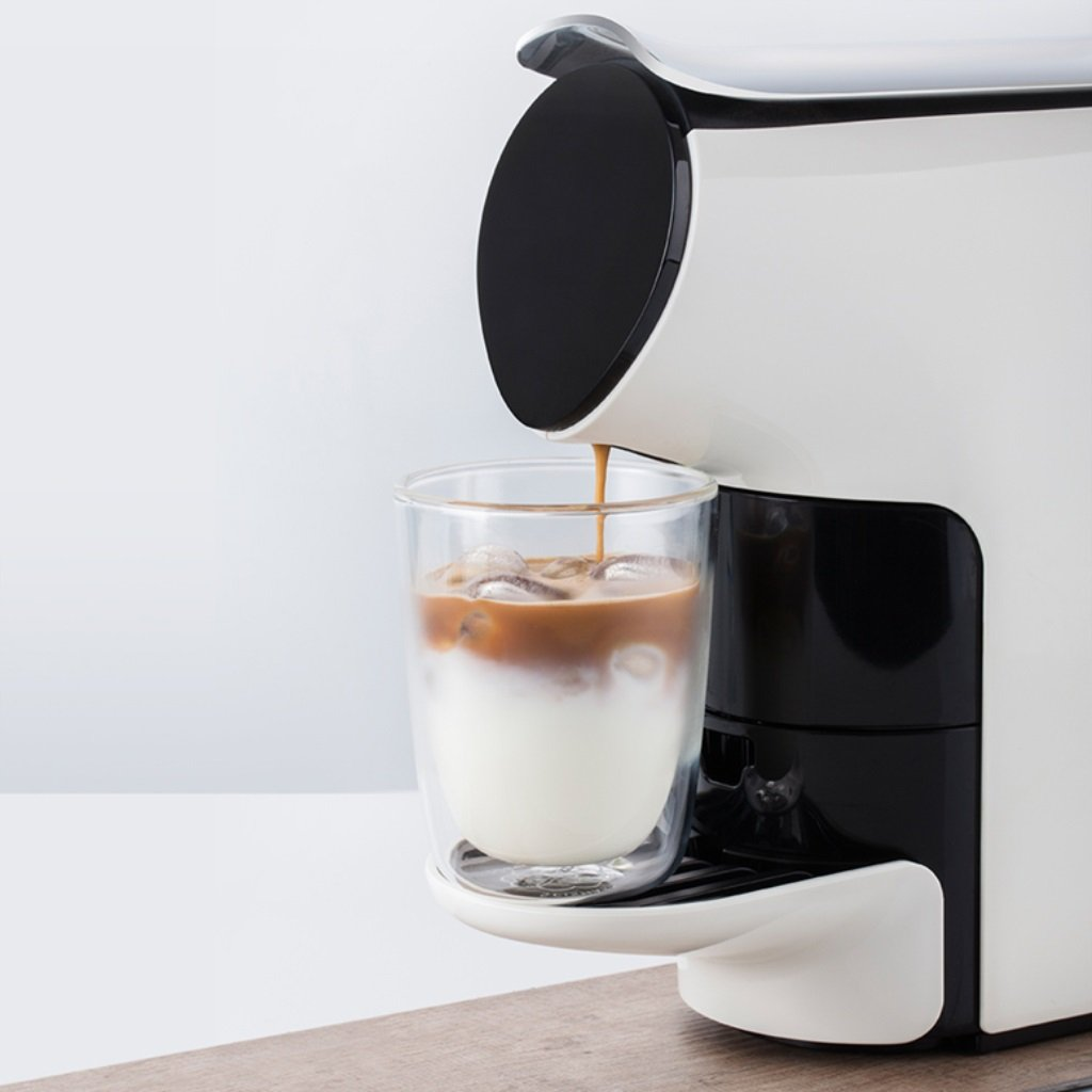 Casa- Maquina de cafe Capsule Coffee Machine Home Automatic ...