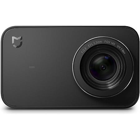 Xiaomi Mi Action Camera 4K 16293, Registrazione video in 4K a 30 fps, Sensore Sony IMX317, Nero