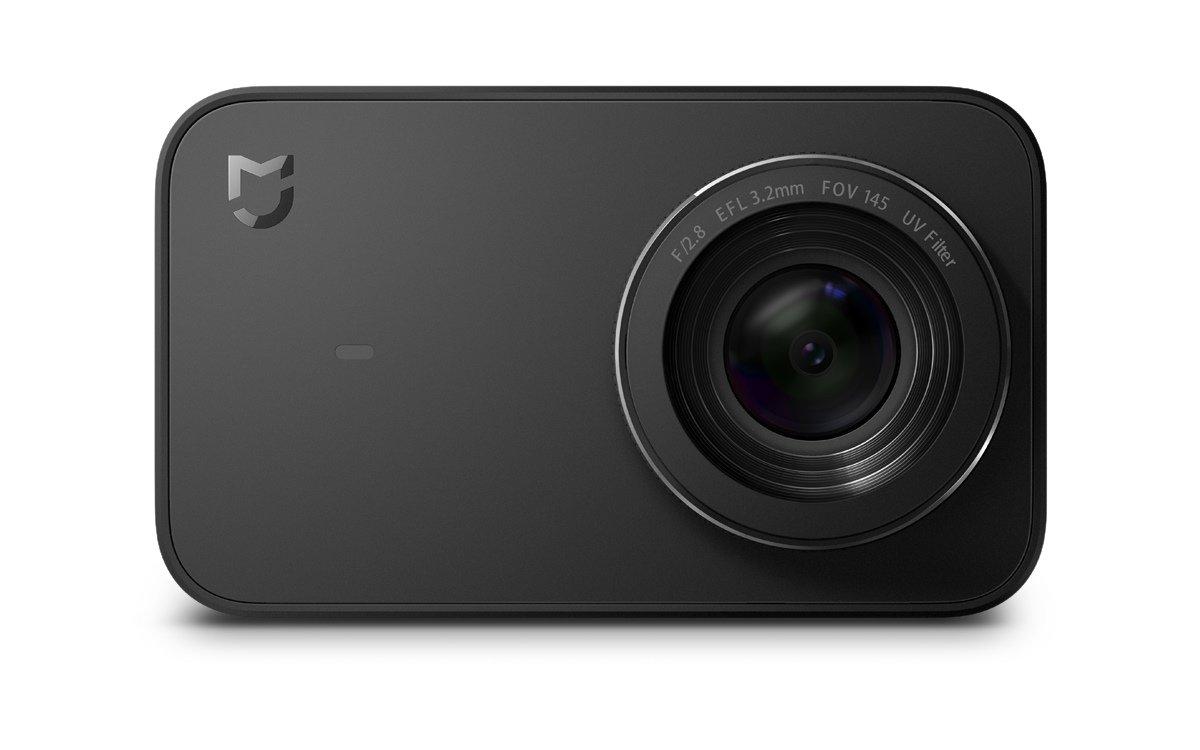 Xiaomi Mi Action Camera 4K - Cámara Deportiva (graba 4K a 30 fps, Gran Angular de 145