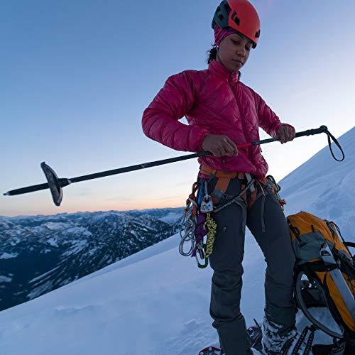 MSR DynaLock Ascent Foldable Carbon Backcountry Trekking Poles, Large