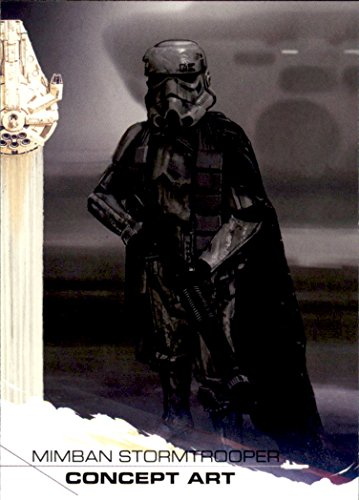 2018 Topps Solo A Star Wars Story #99 Mimban Stormtrooper Concept Art
