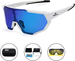 featured product TOPTETN Polarized Sports Sunglasses for Men Women Cycling Running Driving