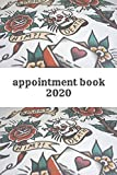 Tattoo Shop Appointment Book: Daily Hourly Schedule