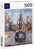 Lais Puzzle Hieronymus Bosch - El Jardín de Las Delicias, Panel Central: El Jardín de Las Delicias, Detalle 500 Piezas