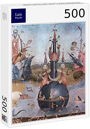 Puzzle Hieronymus Bosch   El Jardín de Las Delicias, Panel Central: El Jardín de Las Delicias, Detalle 500 Piezas
