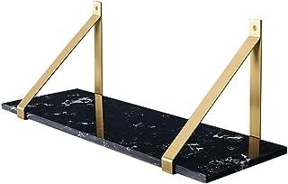 Nordic 真鍮 吊り下げ収納ブラケット 浴室 大理石ラック シャンプー シャワー ジェル キッチン バルコニー 家庭用ラック