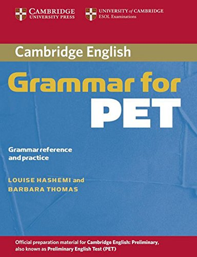 Cambridge Grammar for PET/without answers