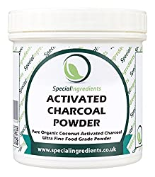 Derived from organic coconut husks. Use as a detox in drinks and juices No odour or taste. Make charcoal ice cream Use to make charcoal crackers or bread as an accompaniment to cheese Add to give a dramatic colour effect. Use as a digestive aid and t...