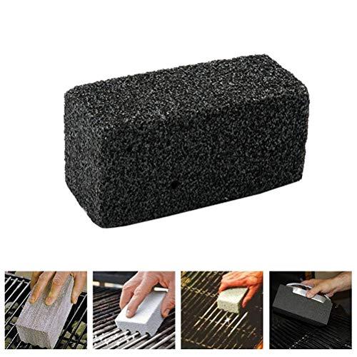 Leikance Ladrillo de limpieza de barbacoa, parrilla de piedra de limpieza de ladrillos adecuados para limpiador de barbacoas de cocina