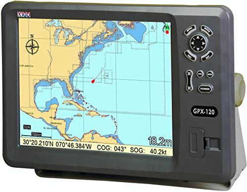 "X10D GPX-120 12"" Marine GPS Chart Plotter"