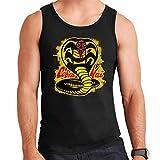 Cobra Kai Paint Splatter Logo Men's Vest