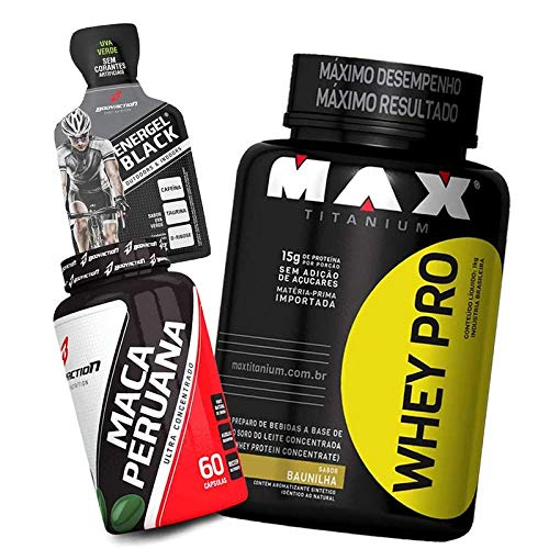 Suplemento Testosterona Natural Whey/wey/way Pro 1kg + Maca Peruana
