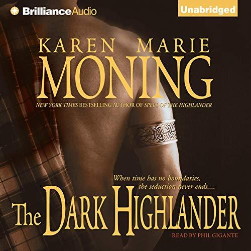 Page de couverture de The Dark Highlander