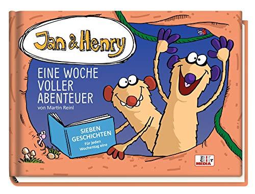 Jan & Henry - Eine Woche voller Abenteuer: Sieben Geschichten - für jeden Wochentag eine (Jan & Henry / Gutenachtgeschichten)