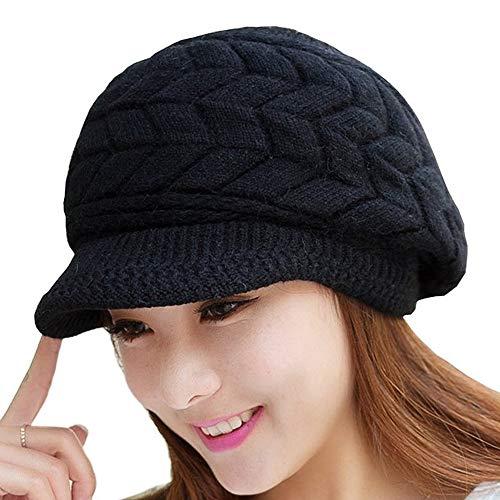SWEDREAM Sombrero Invierno Gorros de Punto Gorras para Mujeres Crochet
