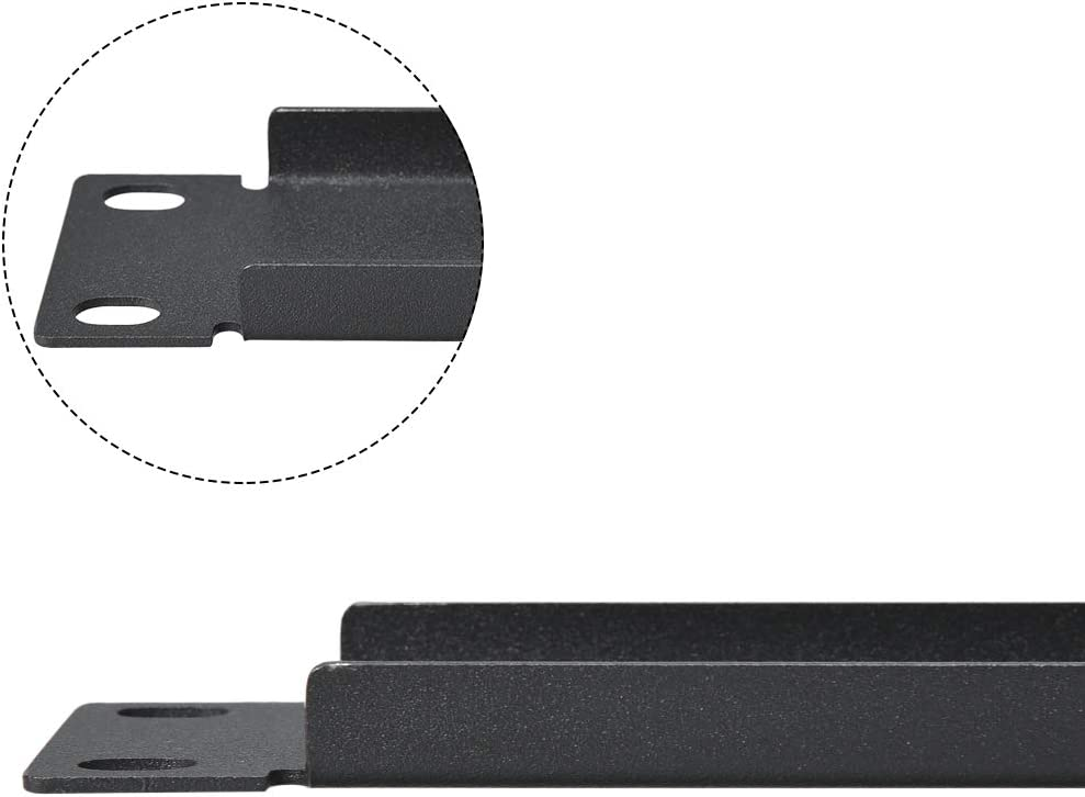 uxcell 1U Blank Rack Mount Panel Spacer 2pcs with Venting for 19-Inch Server Network Rack Enclosure or Cabinet