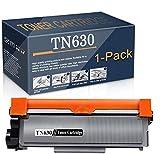 1-Pack ofBlackTN-630CompatibleTN630Toner CartridgeReplacementfor Brother HL-L2300D L2305W L2315DW L2320D MFC-L2680W L2685DW L2700DW DCP-L2540DW DCP-L2520DW L2380DW L2705DW Printer,bySatink.