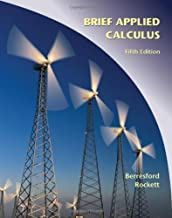 Applied Calculus, Brief by Berresford, Geoffrey C. Published by Cengage Learning 5th (fifth) edition (2008) Hardcover