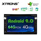 XTRONS Android 9.0 Double Din Car Stereo Radio DVD...