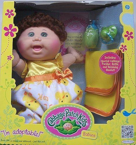 Cabbage Patch Kids Babies Brunette Doll by Jakks (English Manual)