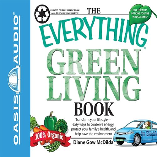 The Everything Green Living Book cover art