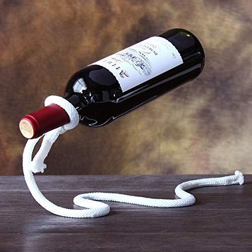 Gn shop Weinregal - Magisches Wein Seil Kreative Flaschenregal L Schmiedeeisen Regal Küchentischdekoration Weinschrank