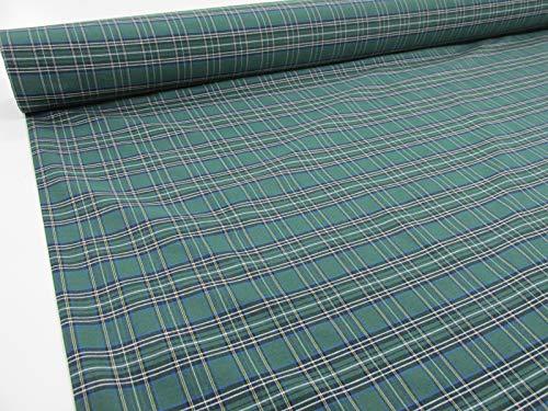 Confección Saymi Metraje 2,45 MTS Tejido Cuadros Ref. Irlanda Color Verde, con Ancho 2,80 MTS.