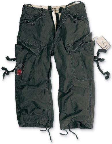 Surplus Engineer Vintage 3/4 Shorts Farbe:-Schwarz Gr:-XL