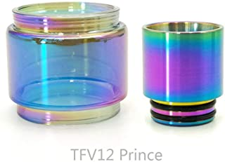 Winnema Silicone Anti Slip Band Rings Attached Drip Tip Cover for TFV12 Prince Bulb Glass Protection Skin