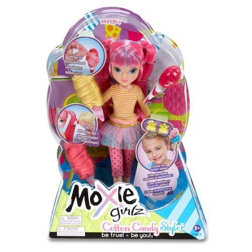 Moxie Girlz Magic Hair Cotton Candy Style Doll - Avery by MGA