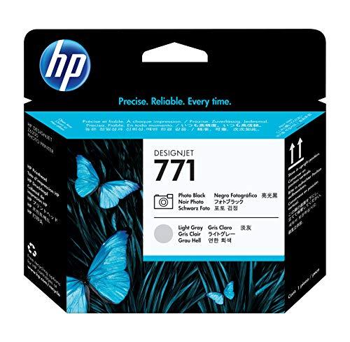 HP Hewlett Packard Druckkopf Nr. 771 CE020A Photo Schwarz/Grau - Passend für DesignJet Z6200
