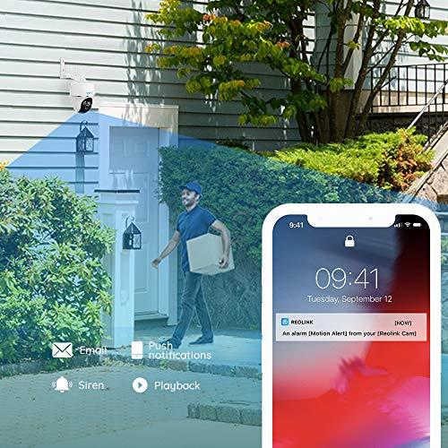 Caméra de surveillance Reolink Argus PT 1080P FHD sans fil 4
