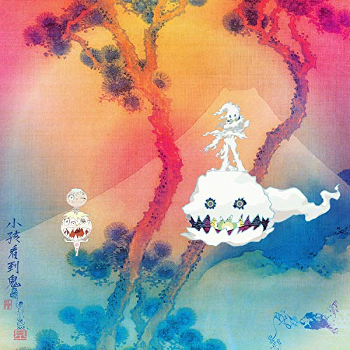 Kanye West Kid Cudi-Kids See Ghosts Music Album Cover Poster Art Print Wall Posters Size 20'x20'