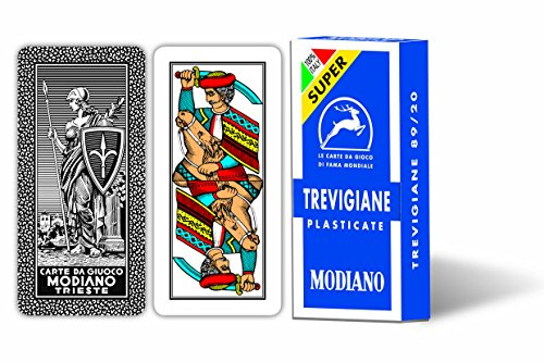 Modiano- Carte da Gioco Treviagiane 89/20 Super, 300137