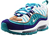 Nike W Air MAX 98, Zapatillas de Atletismo para Mujer, Multicolor (Court Purple/Terra Blush/Spirit Teal 000), 38.5 EU