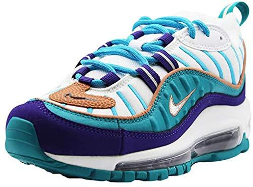Nike W Air MAX 98, Zapatillas de Atletismo para Mujer, Multicolor (Court Purple/Terra Blush/Spirit Teal 000), 37.5 EU