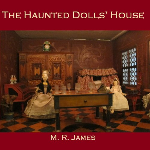 The Haunted Dolls House audiobook cover art