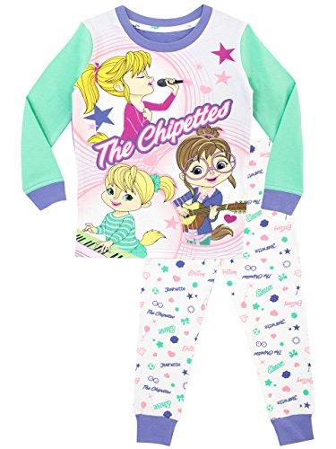 Alvin and the Chipmunks Mädchen Die Chipettes Schlafanzug Slim Fit Mehrfarbig 98