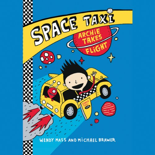 Space Taxi audiobook cover art