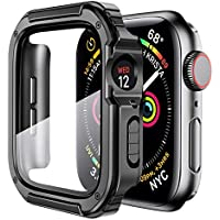 Mesime Rugged Case with Tempered Glass Screen for 38mm iWatch Series 3