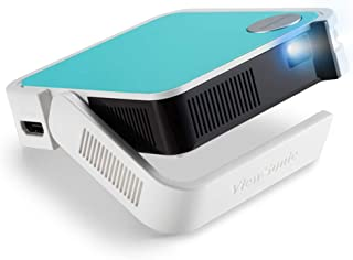 ViewSonic M1 Mini Plus Smart LED Pocket Cinema Projector with JBL Speaker, White