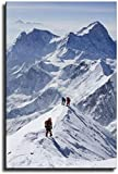 Mount Everest Leinwand-Kunstdruck, Poster, Wand-Kunstdruck,