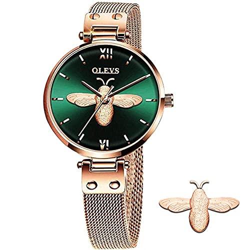 Relojes De Lujo Para Mujer  marca OLEVS