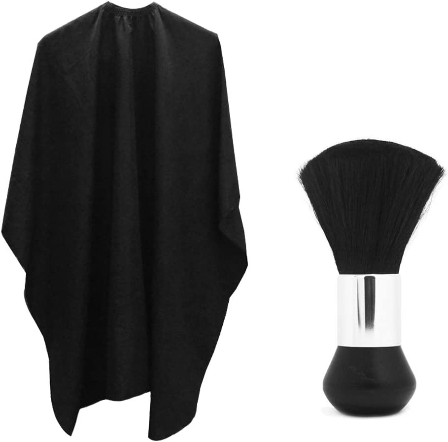 Professional Hair Salon Nylon shop Cape Closure with Same day shipping Metal Adjustable